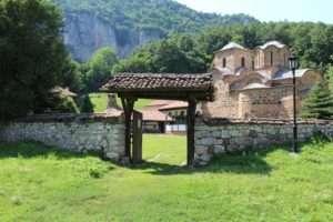 Manastir Poganovo na granici sa BUgarskom, u blizini Caribrioda, primer moravske arhitekture