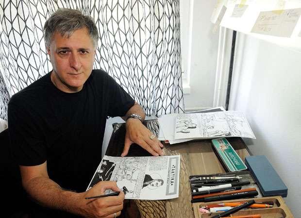 Aleksandar Rakezić Zoograf: Strip nije mrtav -živeo strip